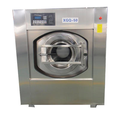 How does a washer extractor work?